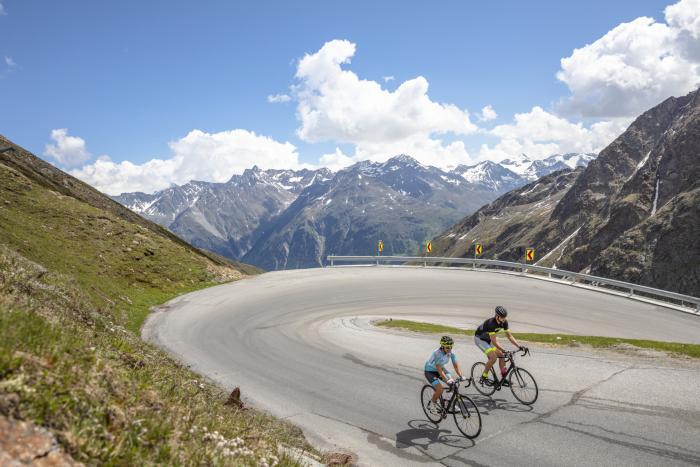 Ötztal, licenza di pedalare