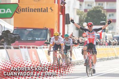 Giro della Catalogna, prima tappa al danese Andreas Kron