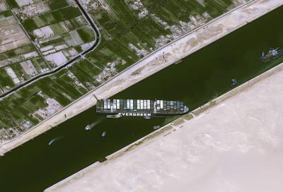 Mercato delle biciclette.  La nave incastrata nel Canale di Suez sta ritardando migliaia di consegne