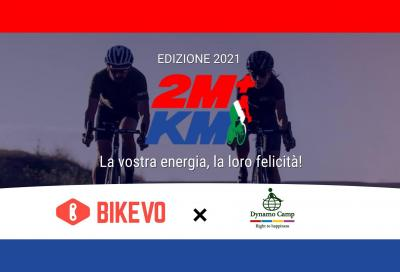 2 Milioni + di Km. La bicicletta diventa solidale