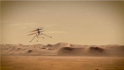 Cosa c'entra Ingenuity, l'elicottero di Marte con il ciclismo e lo sport?
