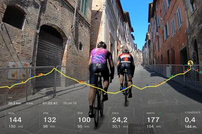 Il Giro di Italia diventa anche virtuale