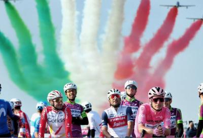 Giro d'Italia, i ciclisti alla partenza, le dirette Tv e le 21 tappe