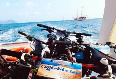 In bicicletta alla scoperta delle isole Eolie