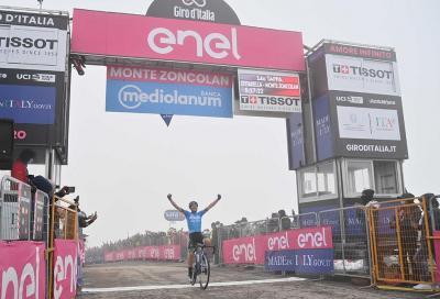 Fortunato si impone sullo Zoncolan: italiani ancora grandi protagonisti al Giro