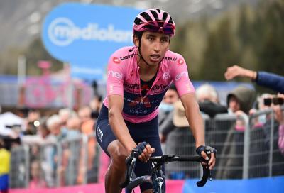A Bernal il Giro d'Italia di ciclismo. Incredibili Caruso e Ganna