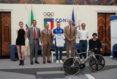 Presentata la maglia per il ciclismo alle Olimpiadi di Tokyo