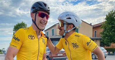 L'Italia in bicicletta. Il Tour de Fans di Linus e Savino è in Toscana