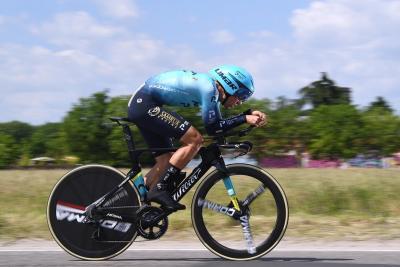 Matteo Sobrero è il nuovo campione italiano di ciclismo a cronometro
