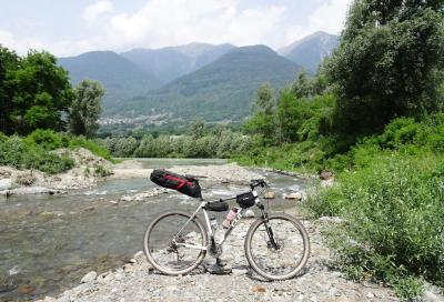 Da Milano alla Valmalenco in mountain bike