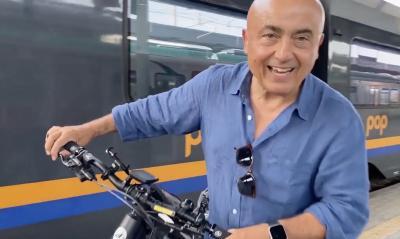 """Andare la mare con la bicicletta sul treno, è la cosa più """"sburona"""""""