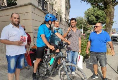 Dopo 2000 chilometri in bici si è concluso a Roma il Clima Tour di Gianfranco Mascia