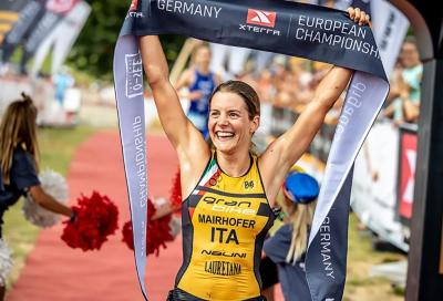 XTerra: l'italiana Sandra Mairhofer vince l'European Championship in Germania