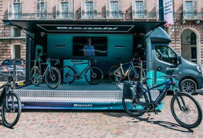 Il Bianchi Experience Center fa tappa a Rimini per l'Italian Bike Festival