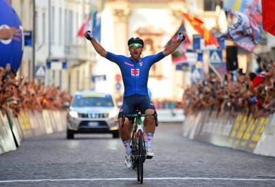 Oro di Colbrelli: anche nel ciclismo l'Italia è campione d'Europa