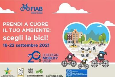 FIAB celebra la Settimana Europea della Mobilità Sostenibile con tante iniziative dedicate alla bicicletta