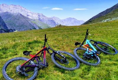 UpSlowTour: un nuovo sito con percorsi cicloturistici per andare alla scoperta delle montagne pinerolesi