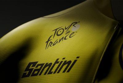 Dal 2022 Santini vestirà la maglia gialla del Tour de France