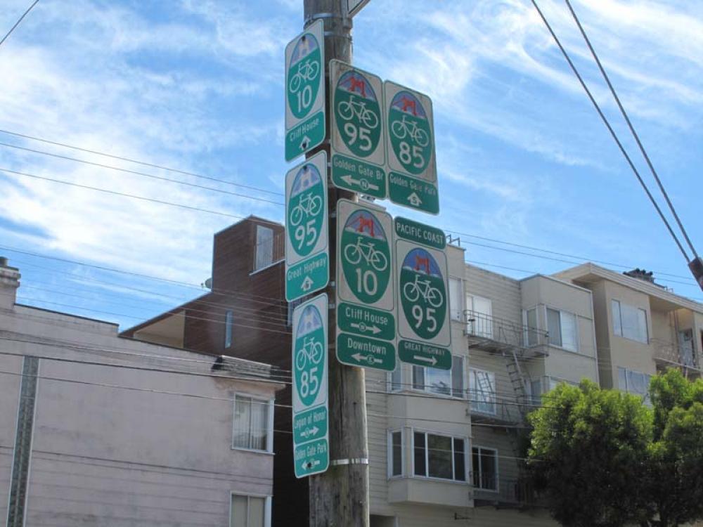 San Francisco - La segnaletica