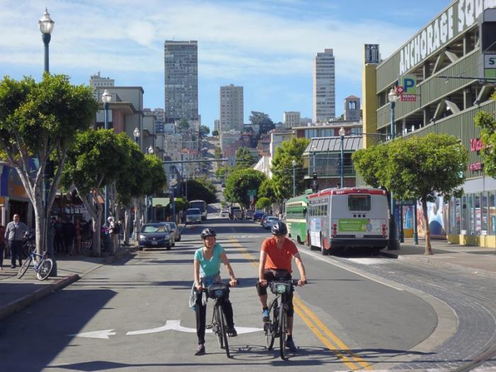 San Francisco - Le strade