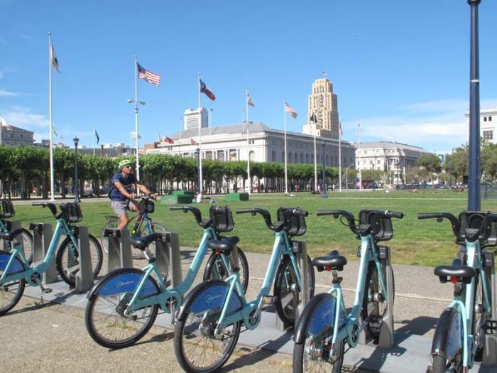 San Francisco - Città per cicloturisti