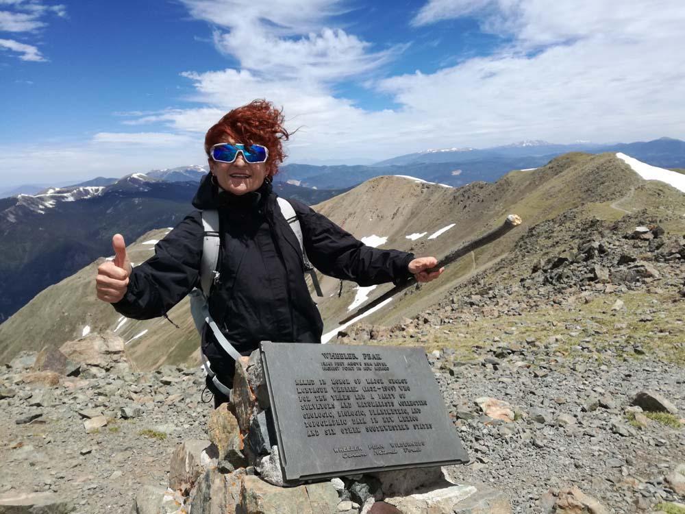 Il Wheeler Peak, rilievo da oltre 4000 metri.