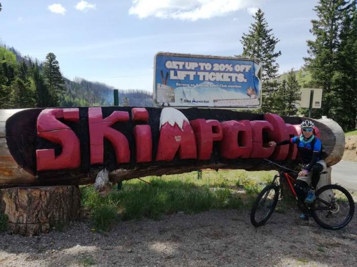 Ski Apache mtb Area, Ruidoso.