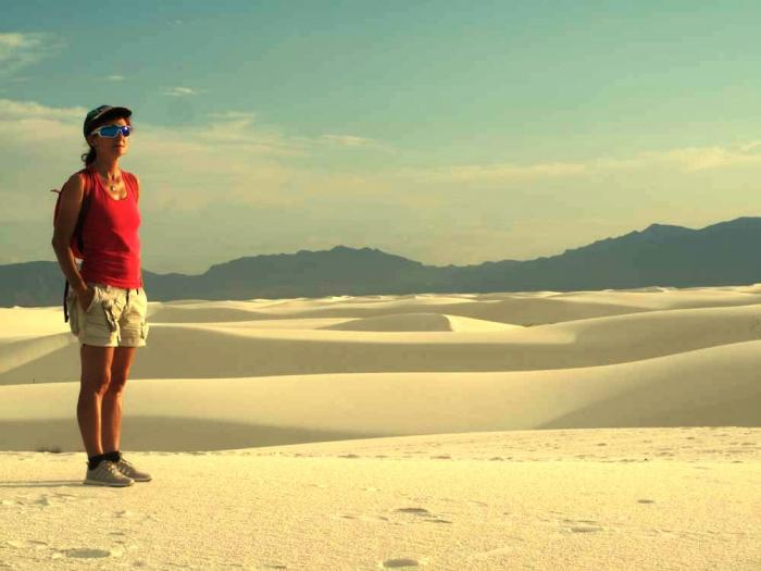 Il White Sands National Monument.